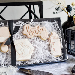 New Baby Iced Biscuit Box